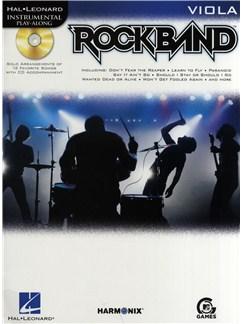 Hal Leonard Instrumental Play-Along: Rock Band (Viola) Books and CDs   Viola