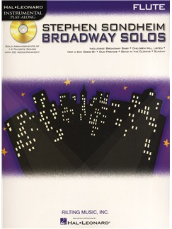 Flute Play-Along: Stephen Sondheim - Broadway Solos Books and CDs | Flute