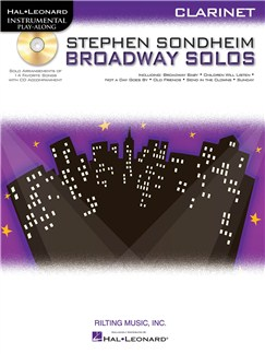 Clarinet Play-Along: Stephen Sondheim - Broadway Solos Books and CDs | Clarinet