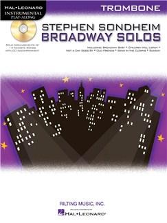 Trombone Play-Along: Stephen Sondheim - Broadway Solos Books and CDs | Trombone