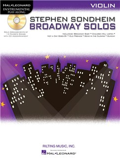 Violin Play-Along: Stephen Sondheim - Broadway Solos Books and CDs | Violin