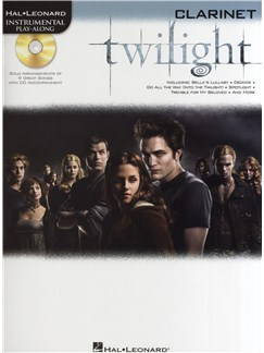 Hal Leonard Instrumental Play-Along: Twilight (Clarinet) Books and CDs | Clarinet