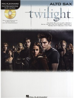 Hal Leonard Instrumental Play-Along: Twilight (Alto Saxophone) Books and CDs   Alto Saxophone