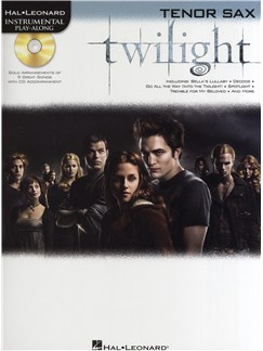 Hal Leonard Instrumental Play-Along: Twilight (Tenor Saxophone) Books and CDs | Tenor Saxophone