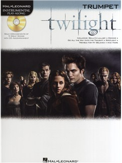 Hal Leonard Instrumental Play-Along: Twilight (Trumpet) Books and CDs | Trumpet