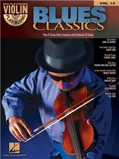 Violin Play-Along Volume 14: Blues Classics Books and CDs | Violin, Voice
