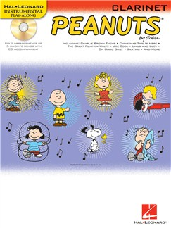 Hal Leonard Instrumental Play-Along: Peanuts (Clarinet) Books and CDs | Clarinet