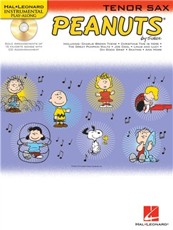 Hal Leonard Instrumental Play-Along: Peanuts (Tenor Saxophone) Books and CDs | Tenor Saxophone