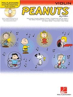 Hal Leonard Instrumental Play-Along: Peanuts (Violin) Books and CDs | Violin