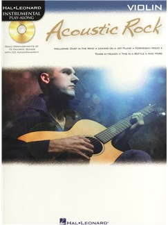 Instrumental Play-Along: Acoustic Rock (Violin) Books and CDs | Violin