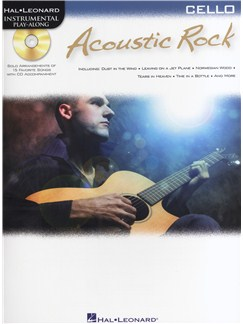 Instrumental Play-Along: Acoustic Rock (Cello) Books and CDs | Cello
