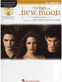 Hal Leonard Instrumental Play-Along: Twilight - New Moon (Clarinet) Books and CDs | Clarinet