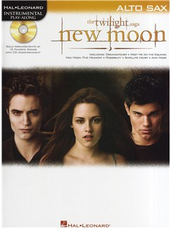 Hal Leonard Instrumental Play-Along: Twilight - New Moon (Alto Saxophone) Books and CDs | Alto Saxophone