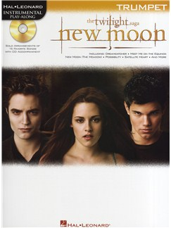 Hal Leonard Instrumental Play-Along: Twilight - New Moon (Trumpet) Books and CDs | Trumpet