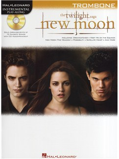 Hal Leonard Instrumental Play-Along: Twilight - New Moon (Trombone) Books and CDs | Trombone