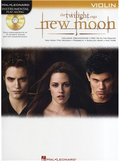Hal Leonard Instrumental Play-Along: Twilight - New Moon (Violin) Books and CDs | Violin