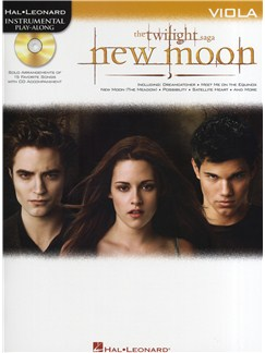 Hal Leonard Instrumental Play-Along: Twilight - New Moon (Viola) Books and CDs | Viola