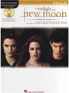 Hal Leonard Instrumental Play-Along: Twilight - New Moon (Cello) Books and CDs   Cello