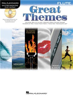 Flute Play-Along: Great Themes Books and CDs | Flute