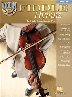 Violin Play-Along Volume 18: Fiddle Hymns Books and CDs | Violin