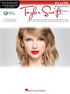 Instrumental Play-Along: Taylor Swift (Flute) (Book/Online Audio) Books and Digital Audio | Flute
