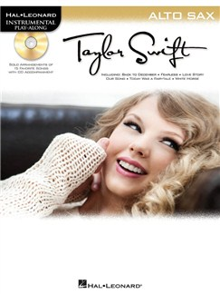 Instrumental Play-Along: Taylor Swift (Alto Saxophone) Books and CDs | Alto Saxophone
