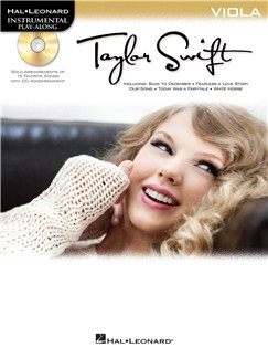 Instrumental Play-Along: Taylor Swift (Viola) Books and CDs | Viola