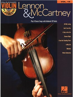 Violin Play-Along Volume 19: Lennon & McCartney Books and CDs | Violin