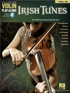 Violin Play-Along Volume 20: Irish Tunes (Book/Online Audio) Audio Digitale et Livre | Violon