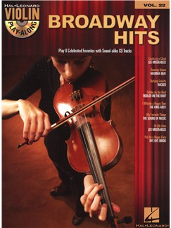 Violin Play-Along Volume 22: Broadway Hits Books and CDs | Violin