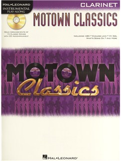 Instrumental Play-Along: Motown Classics - Clarinet Books and CDs | Clarinet