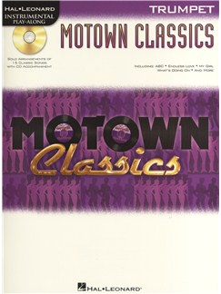 Instrumental Play-Along: Motown Classics - Trumpet Books and CDs | Trumpet