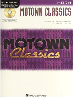 Instrumental Play-Along: Motown Classics - French Horn Books and CDs | French Horn