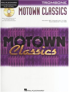 Instrumental Play-Along: Motown Classics - Trombone Books and CDs | Trombone