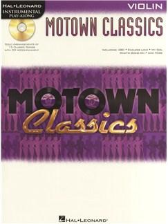 Instrumental Play-Along: Motown Classics - Violin CD et Livre | Violon
