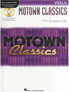 Instrumental Play-Along: Motown Classics - Viola Bog og CD | Bratsch