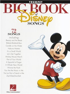 The Big Book Of Disney Songs - Trumpet Books | Trumpet