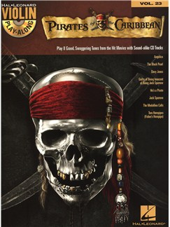Violin Play-Along Volume 23: Pirates Of The Caribbean (Book/Online Audio) Books and Digital Audio | Violin
