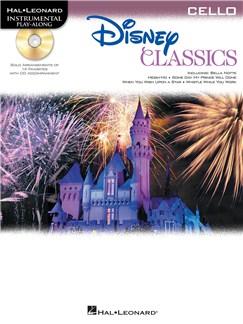 Cello Play-Along: Disney Classics CD et Livre | Violoncelle