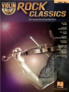 Violin Play-Along Volume 24: Rock Classics Books and CDs | Violin