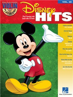 Violin Play-Along Volume 30: Disney Hits Books and CDs | Violin