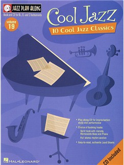 Jazz Play Along: Volume 19 - Cool Jazz Books and CDs | B Flat Instruments, C Instruments, E Flat Instruments