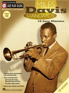 Jazz Play-Along Volume 49: Miles Davis Standards (Book/CD) Books and CDs | B Flat Instruments, E Flat Instruments, C Instruments