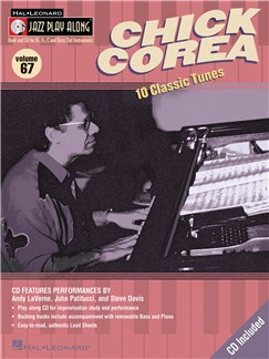 Jazz Play Along: Volume 67 - Chick Corea Books and CDs | All Instruments