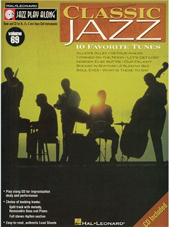 Jazz Play-Along Volume 69: Classic Jazz (Book And CD) Books and CDs | All Instruments