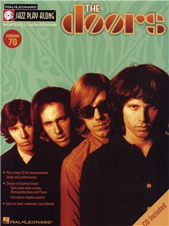 The Doors: Jazz Play-Along Volume 70 (Book And CD) Books and CDs | All Instruments