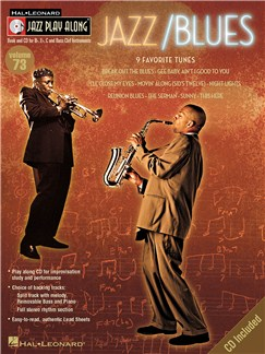 Jazz Play-Along Volume 73: Jazz/Blues Books and CDs | B Flat Instruments, E Flat Instruments, C Instruments, Bass Clarinet