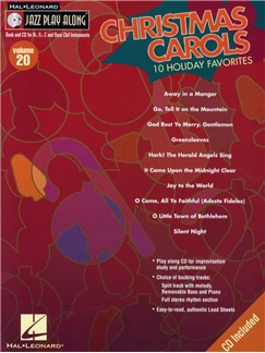 Jazz Playalong: Volume 20 - Christmas Carols Books and CDs | All Instruments