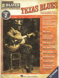 Blues Play-Along Volume 2: Texas Blues Books and CDs | B Flat Instruments, E Flat Instruments, C Instruments, Bass Clef Instruments