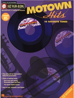 Jazz Play-Along Volume 85: Motown Hits Books and CDs | C Instruments, B Flat Instruments, E Flat Instruments, Bass Clef Instruments